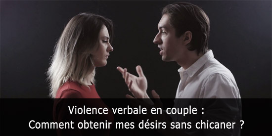 Violence verbale en couple