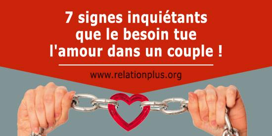 7 signes inqui tants que le besoin tue l 39 amour dans un couple. Black Bedroom Furniture Sets. Home Design Ideas