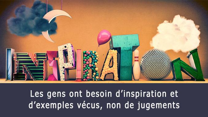 Inspiration aux gens
