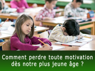 Comment perdre toute motivation ?